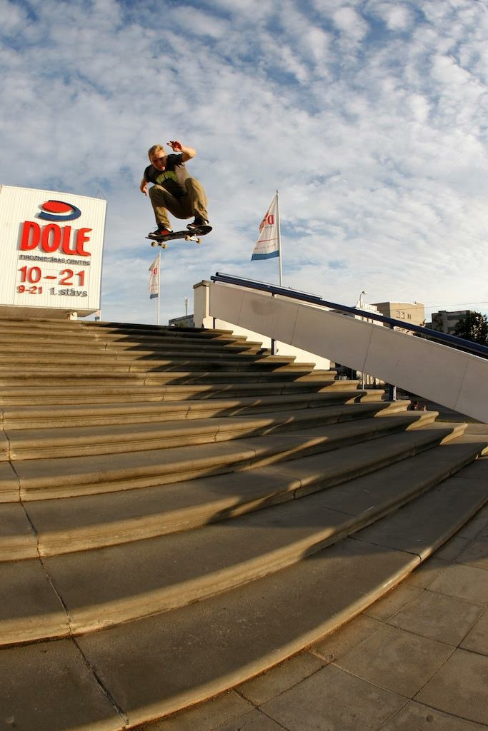 skater ollie massive stairs