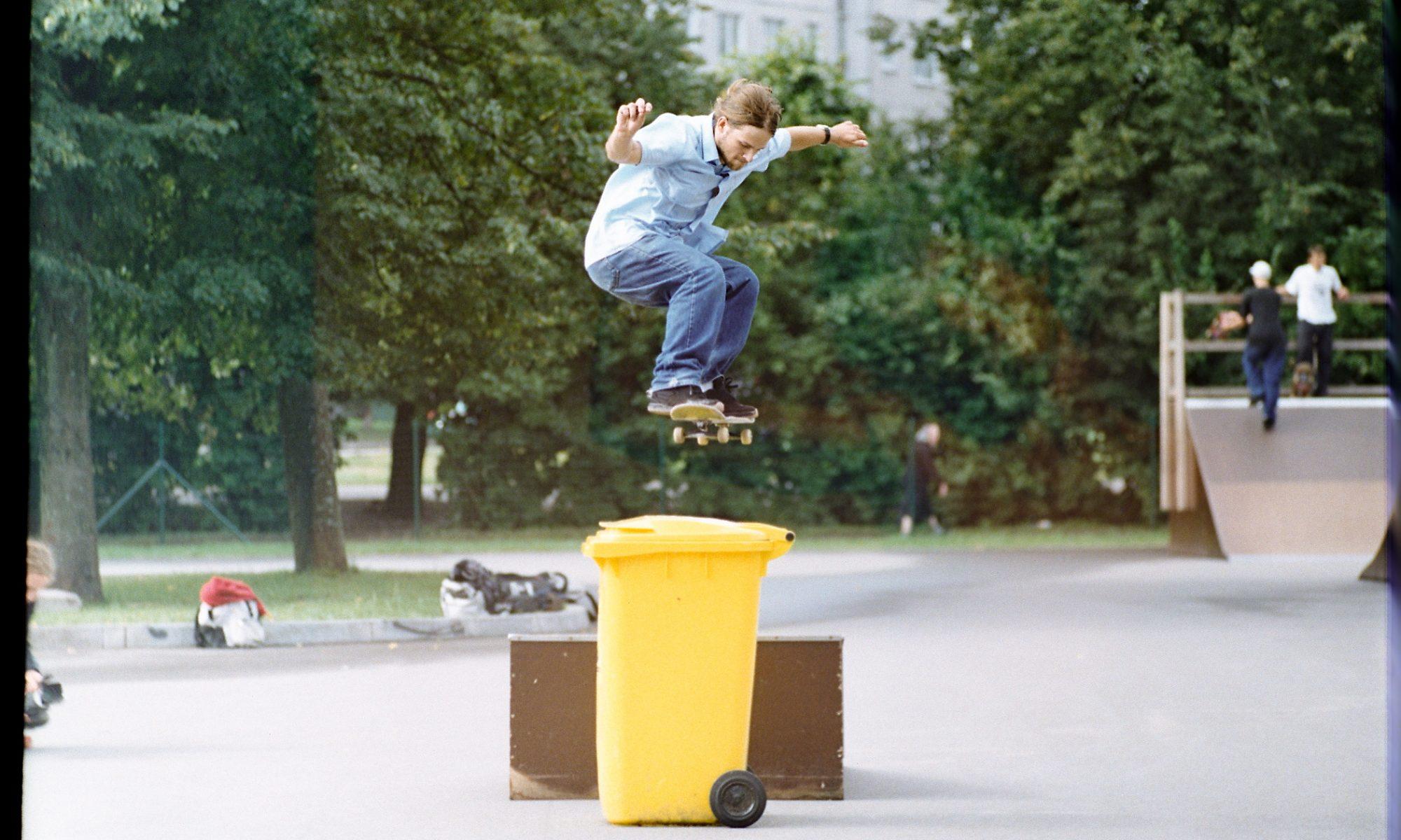 ollie old skater