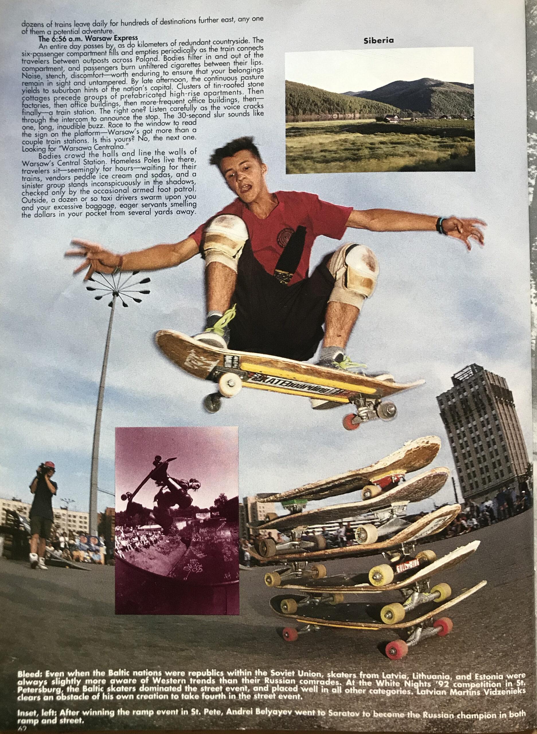 TWS April 1993 62 Gatis Vidzenieks lpp